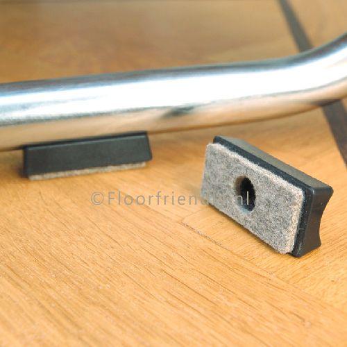 Viltglijder voor stoelen met buisframe, maat XL - Floorfriendly.nl